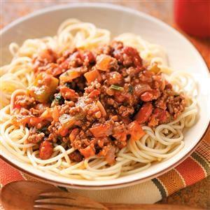 Mexican-Style Spaghetti Recipe