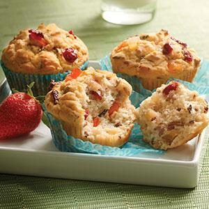 Gluten-Free Grain and Fruit Muffins