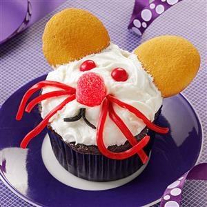 Mice Cupcakes Recipe