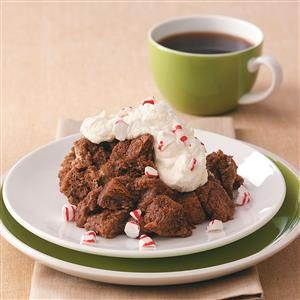 Microwave Chocolate Bread Pudding Recipe