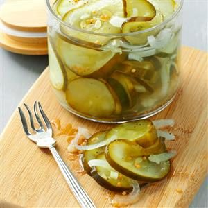 Microwave Pickles Recipe
