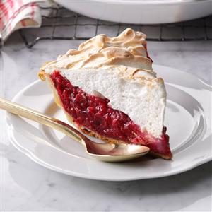 Mile-High Cranberry Meringue Pie Recipe