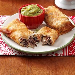 Mini Beef Chimichangas