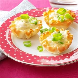 Mini Crab Tarts Recipe