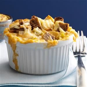 Mini Reuben Casseroles Recipe