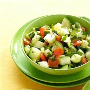 Minted Cucumber Salad Recipe