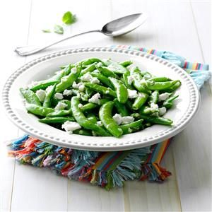Minted Sugar Snap Pea Salad Recipe