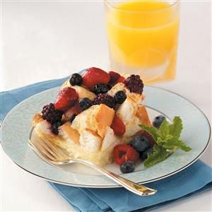 Mixed Berry French Toast Bake Recipe