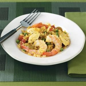 Mixed Paella Recipe