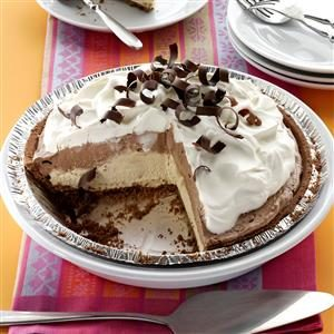 Mocha Java Pie with Kahlua Cream Recipe