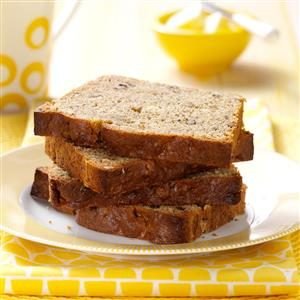 Moist Banana Nut Bread Recipe