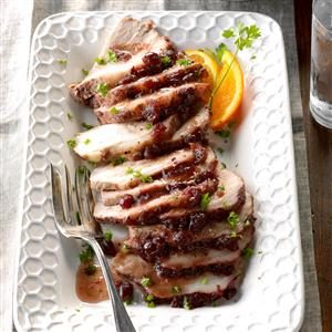 Moist Cranberry Pork Roast Recipe
