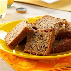 Moist Pineapple Banana Bread Recipe