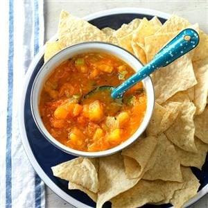 Mojito-Style Yellow Tomato Salsa Recipe