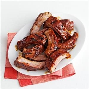 Molasses-Glazed Baby Back Ribs