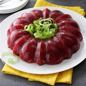 Molded Cranberry-Orange Salad Recipe