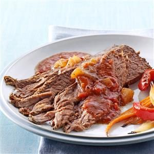 Mom's Celery Seed Brisket Recipe