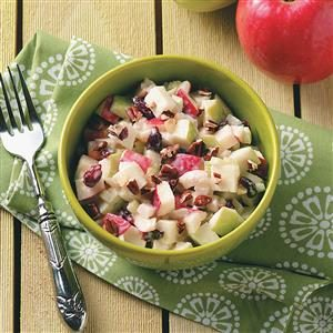 Mom's Gingered Apple Salad Recipe