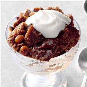 Mom's Hazelnut & Chocolate Bread Pudding Recipe