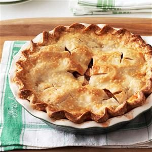 Mom's Maple-Apple Pie