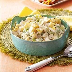 Momma's Warm Potato Salad Recipe