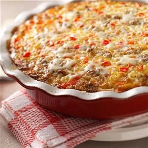 Monterey Sausage Pie Recipe