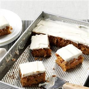 Mrs. Thompson's Carrot Cake Recipe