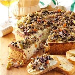 Muffuletta Cheesecake Recipe