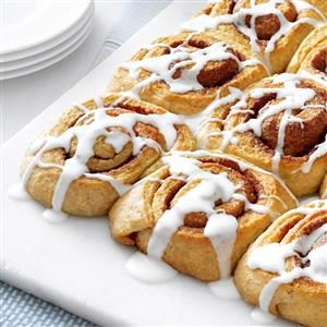 Multigrain Cinnamon Rolls Recipe