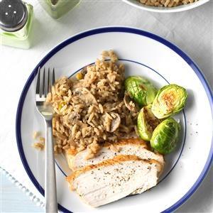 Mushroom & Rice Pilaf Recipe