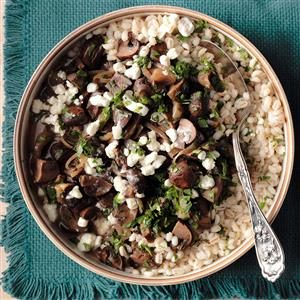 Mushroom Marsala with Barley Recipe