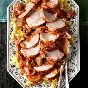 Mushroom Pork Ragout Recipe