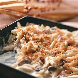 Mushroom-Swiss Mac & Cheese Recipe