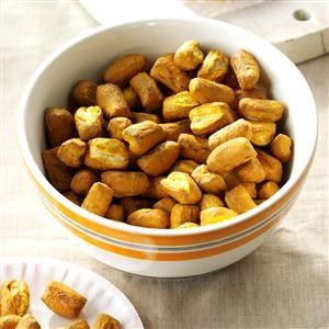 Mustard Pretzel Nuggets Recipe