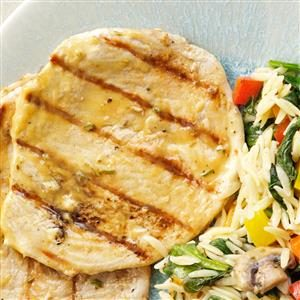 Mustard Turkey Cutlets