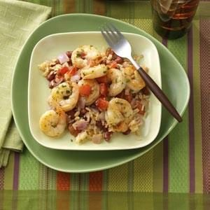N'Orleans Shrimp with Beans & Rice Recipe