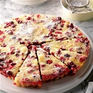 Nantucket Cranberry Tart Recipe
