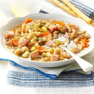 Navy Bean Vegetable Soup Recipe