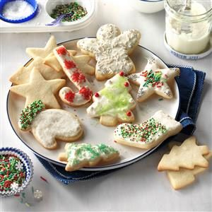 Never Fail Cutout Cookies Recipe