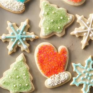 Nice 'n' Soft Sugar Cookies Recipe