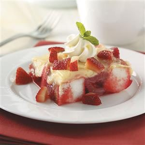 No-Bake Strawberry Dessert Recipe