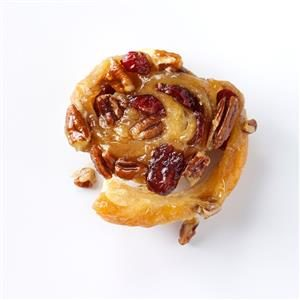 Nutty Cranberry Sticky Buns Recipe