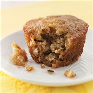 Nutty Maple Muffins Recipe