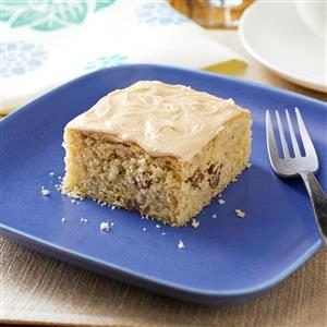 Old-Fashioned Butterscotch Cake with Penuche Frosting Recipe