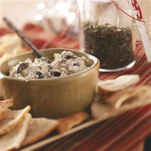 Olive-Herb Cheese Spread Mix Recipe