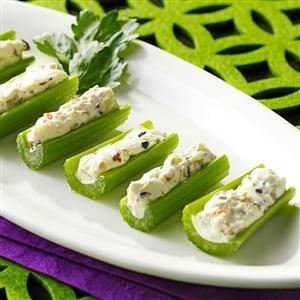 Olive-Stuffed Celery Recipe