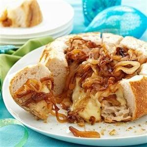 Onion Brie Bowl Recipe