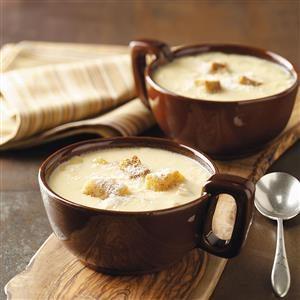 Onion Cheese Soup Recipe
