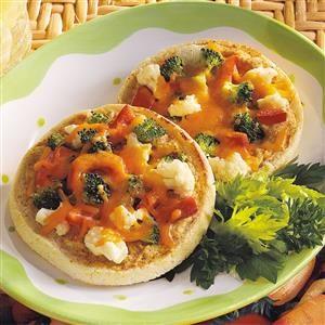 Open-Faced Veggie Sandwiches Recipe