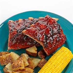 Orange BBQ Baby Back Ribs Recipe